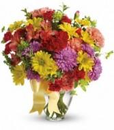 Color Me Yours Bouquet Vase Arrangement