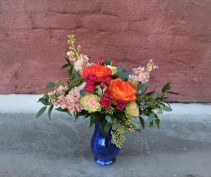 Color My World Vase arrangement