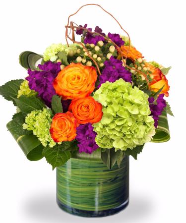 Color Pop Vase arrangement