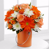 Color Your Day With Laughter Fall Arrangement