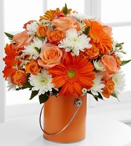 Color Your Day with Laughter Fresh Flowers