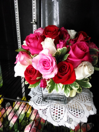 Color Your Day With Love Roses
