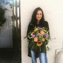 Colorado Summer Handtied Bridal Bouquet