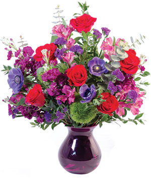 Colorful Affection Floral Arrangement in Chelmsford, MA | East Coast Florist