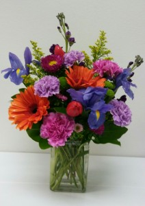 Colorful Arrangement  in Webster, TX |  La Mariposa Flowers