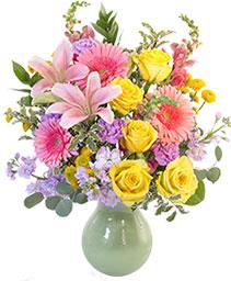 Colorful Array Flower Arrangement