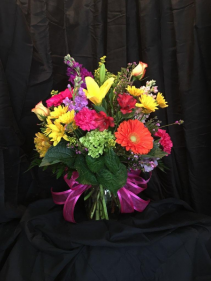 Colorful Artistry Floral Arrangement