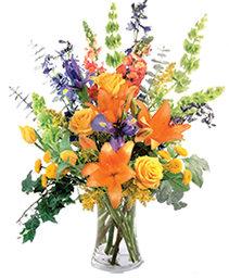 Colorful Balance Flower Arrangement