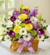Colorful Cheer Basket
