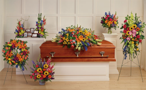 COLORFUL COLLECTION SYMPATHY in Wauseon, OH   ANYTHING GROWS