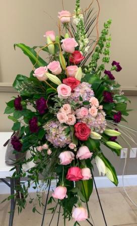 COLORFUL CONDOLENCES ELEGANT AND MIXTURE FLOWERS