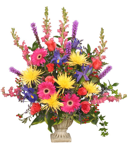 Colorful condolences tribute funeral flowers in colorado springs co colorful condolences tribute funeral flowers mightylinksfo