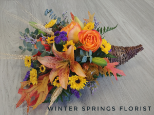 Colorful Cornucopia  in Winter Springs, FL   WINTER SPRINGS FLORIST AND GIFTS