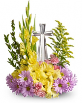 Colorful Crystal Cross Bouquet