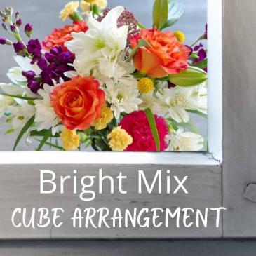 Cube-Colorful Flowers