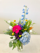 Colorful Delight  Anniversary Flowers