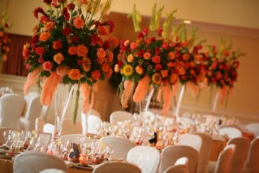 Colorful Elegance Table Centerpieces