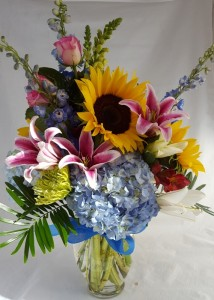 Coral springs florist coral springs fl flower shop hearts colorful happy days mightylinksfo