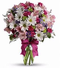 Colorful Kisses Arrangement