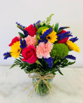 Colorful Mix Flowers  in Tamarac, Florida | Yosvi Flowers