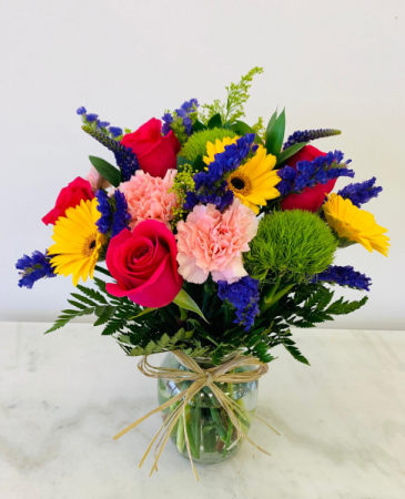 Colorful Mix Flowers