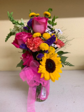 Colorful Mix Mix of beautiful flowers