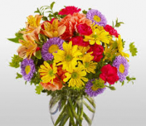 Colorful mixed Bouquet  Mixed flowers