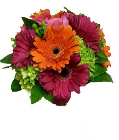 Colorful Mixed Bouquet Vase