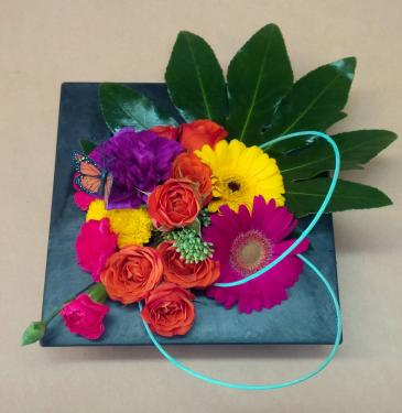 Colorful pavee Pavee Arrangement