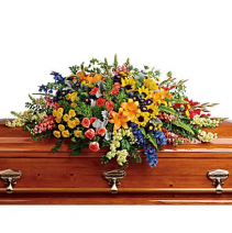 Colorful Reflections Casket Spray  Casket Spray