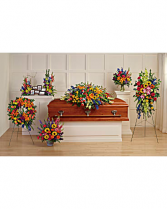 Colorful Reflections Collection Funeral Flowers