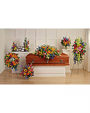 Colorful Reflections Funeral Collection