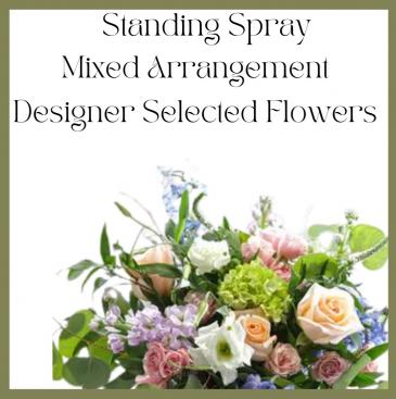 Colorful standing Spray