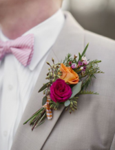 COLORFUL SUNSET  Prom Boutonniere