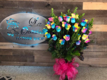 colorful & sweet   fresh arrangement