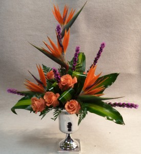 Colorful Sympathies Funeral in Port Huron, MI | CHRISTOPHER'S FLOWERS