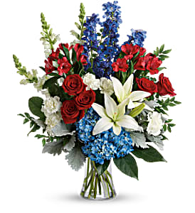 Colorful Tribute Bouquet in Coral Springs, FL | DARBY'S FLORIST