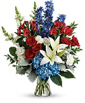 Colorful Tribute Bouquet Fresh Arrangement