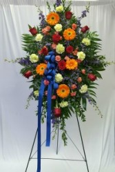 Colorful Tribute Spray Sympathy Spray
