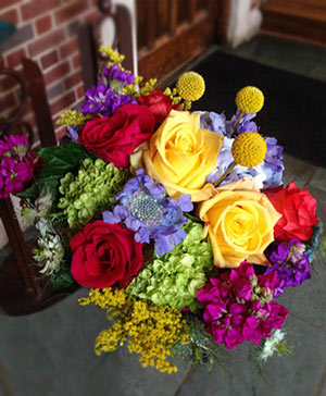 Colorful Variety Bouquet in Bethel, CT | BETHEL FLOWER MARKET OF STONY HILL