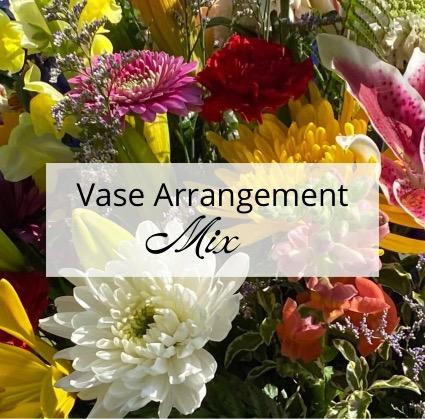 Colorful Vase Arrangement