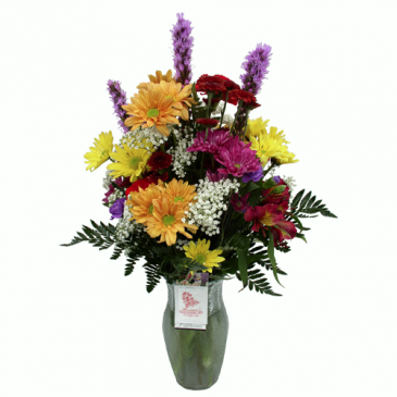 Colorful Vase   Vase Arrangement