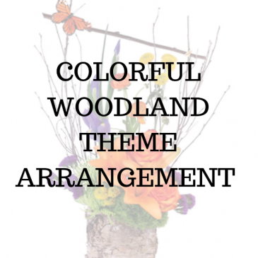 Colorful Woodland Arrangement