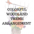 Colorful Woodland Arrangement