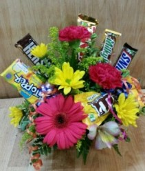 Colorfull Candy Bar Bouquet Colorfull Candy Bar Bouquet