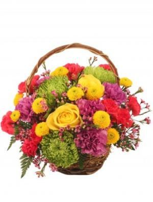 Colorfulness Bouquet in Clinton, IL | Grimsley's Flower Store