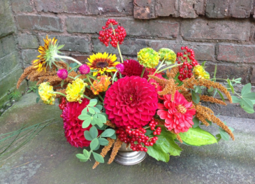 Colors of Autumn Floral Arrangement