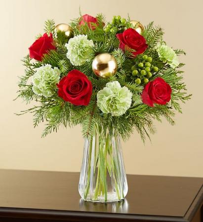 Colors of Christmas Bouquet