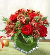 Colors of Christmas Cube  Arrangement