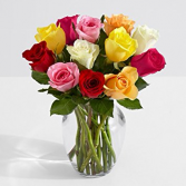 Colorful Rose Arrangement